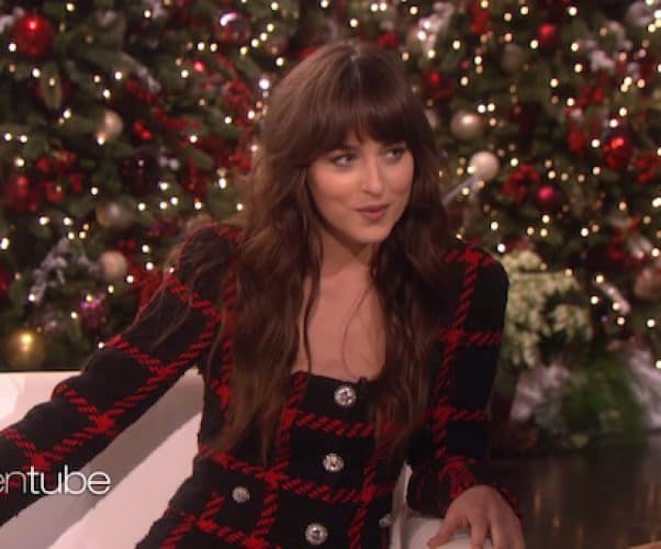 Dakota Johnson's Ellen interview