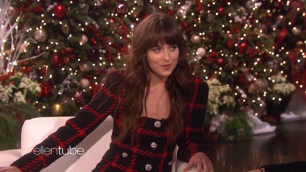 Dakota Johnson's Ellen interview