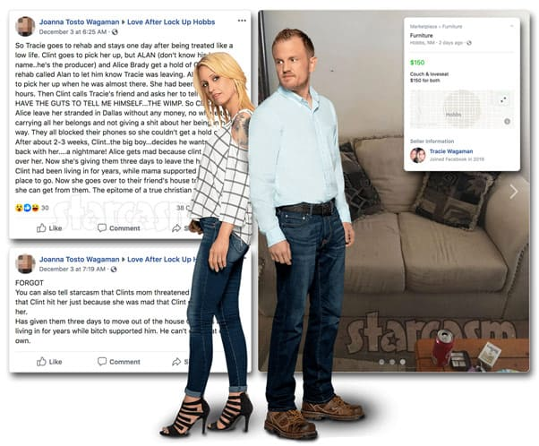 Love After Lockup Are Clint and Tracie homeless? His mom Alice has reportedly kicked them out of their house!