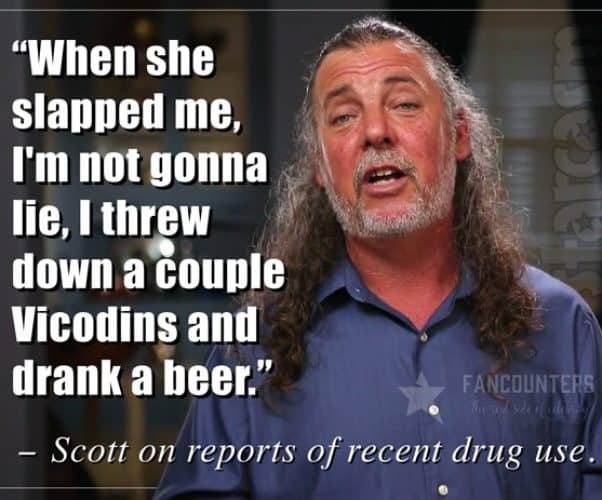 Love After Lockup Scott Davey drugs quote