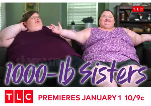 Tammy and Amy Slaton 1000 Pound Sisters TLC reality show