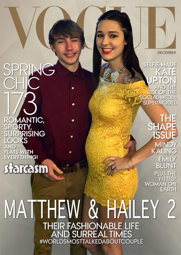 Vogue cover Unexpected Matthew and Hailey 2 back together