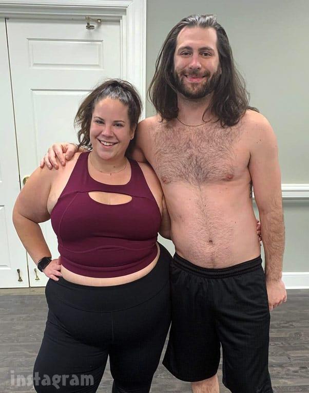 My Big Fat Fabulous Life Whitney Thore and fiance Chase Severino shirtless