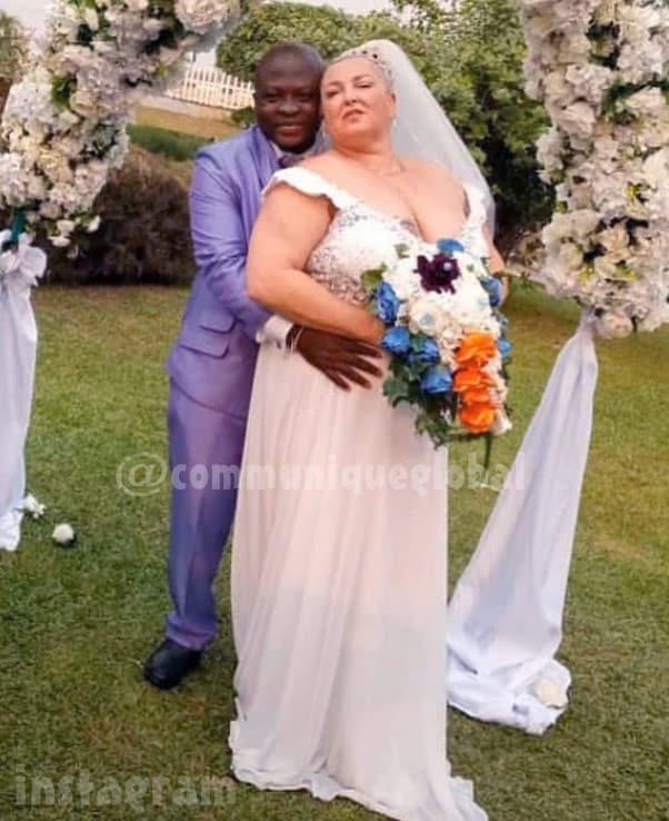 90 Day Fiance Michael and Angela wedding photo Nigeria