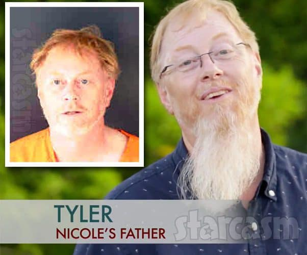 90 Day Fiance Nicole's dad Tyler Nafziger arrested again, this time for Fentanyl and crack pipe possession
