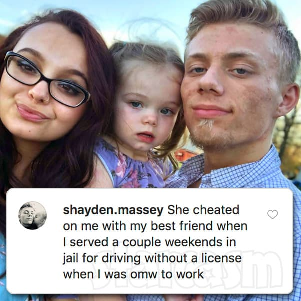 TLC Unexpected Lexus Scheller and Shayden Massey break up after she allegedly sheats with his best friend while Shayden was in jail