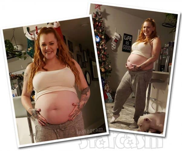 Love After Lockup Life After Lockup Brittany Santiago pregnant again baby bump photos