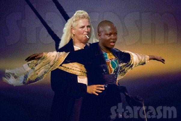 90 Day Fiance Angela and Michael Titanic meme