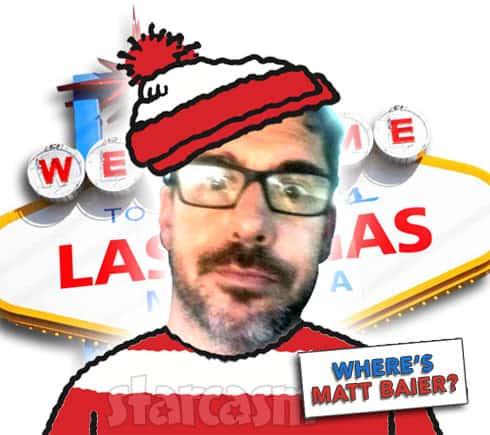 Where's Matt Baier?