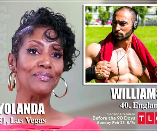 90 Day Fiance Before the 90 Days Is Yolanda's British boyfriend Williams a catfish?
