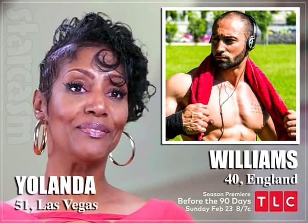 90 Day Fiance Before the 90 Days Is Yolanda's British boyfriend Williams a catfish?