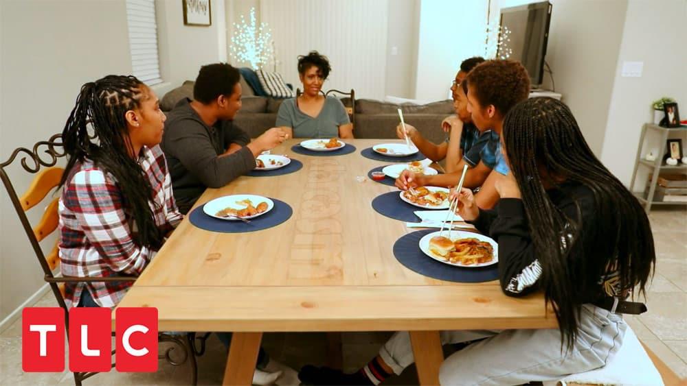 Before the 90 Days Yolanda family dinner