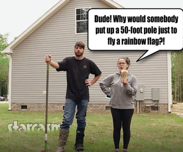 David Eason and Jenelle Eason The Land funny photo