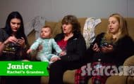 Teen Mom Young and Pregnant Rachel Beaver sister Malorie Beaver and nana Janice Bollen