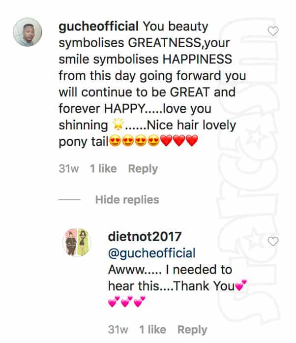 Yolanda and catfish Williams talking on Instagram maybe