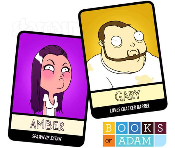 Teen Mom OG Amber Portwood and Gary Shirley trading cards