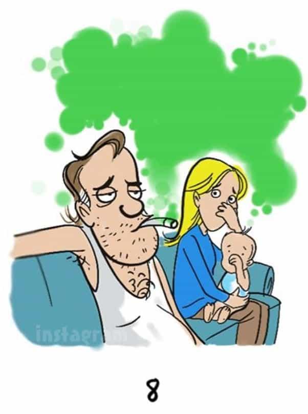Andrew Glennon Preggy_Brain Matt Baier smoking