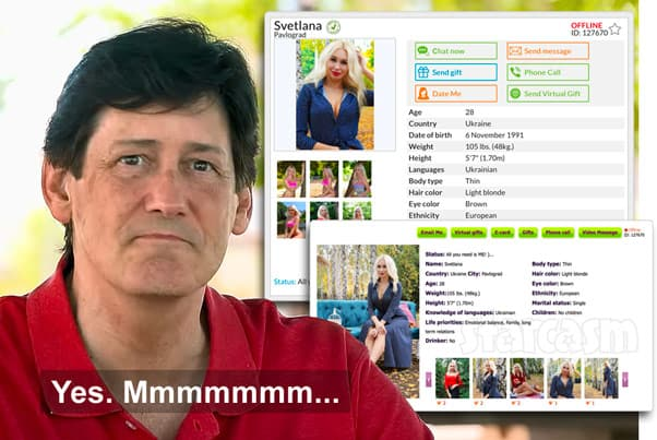 90 Day Fiance Before the 90 Days David and Lana from Ukraine dating profiles