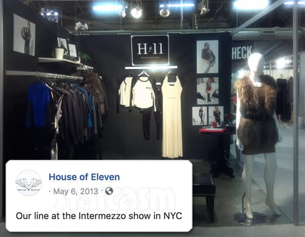 Before the 90 Days Darcey Silva House of 11 fashion line photo from 2013