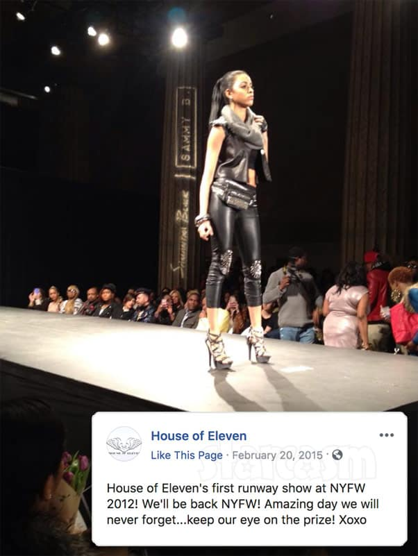 90 Day Fiance Before the 90 Days Darcey Silva House of 11 New York Fashion Week runway show