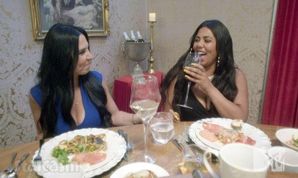 MTV Families of the Mafia Lisa Augustine and Dennie Augustine