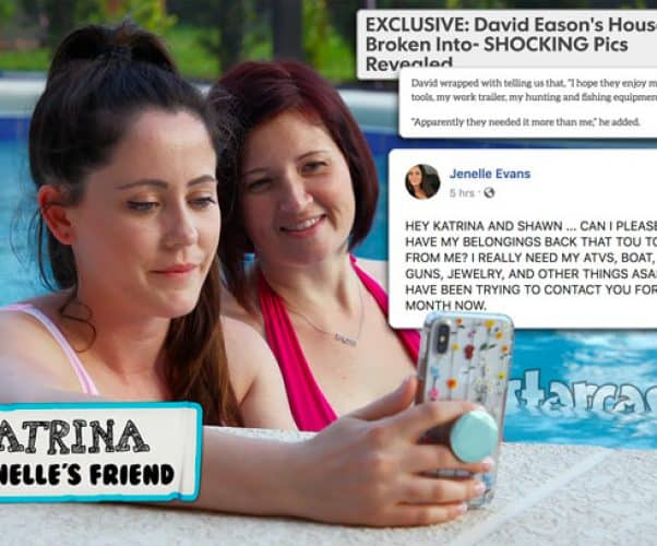 Teen Mom 2 Jenelle Evans friend Katrina robbery of The Land