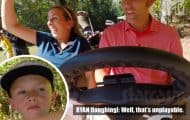 Teen Mom OG Mackenzie and Ryan Edwards with Bentley golfing