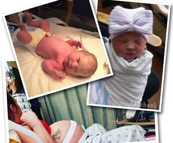 Gypsy Sisters Mellie Stanley new baby Serenity-Faye