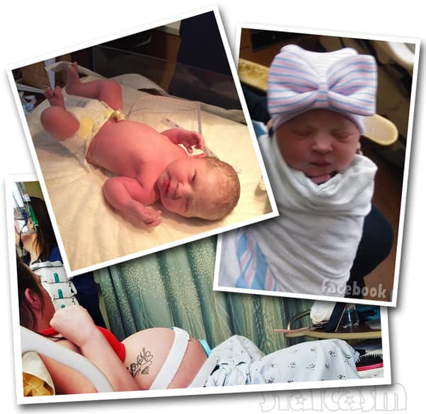 Gypsy Sisters Mellie Stanley new baby Serenity-Faye