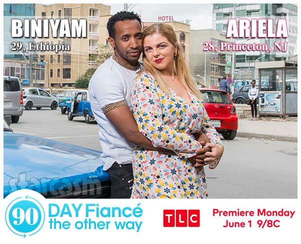 90 Day Fiance The Other Way Season 2 Biniyam from Ethiopiaand Ariela from Princeton New Jersey