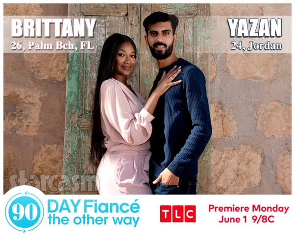 90 Day Fiance The Other Way Season 2 Brittany from Palm Beach Florida and Yazan from Jordan