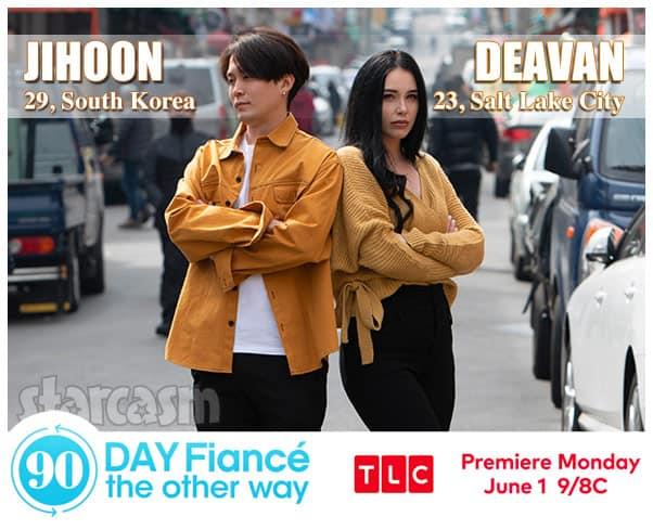 90 Day Fiance The Other Way Season 2 Deavan from Salt Lake City Utah and Jihoon from South Korea