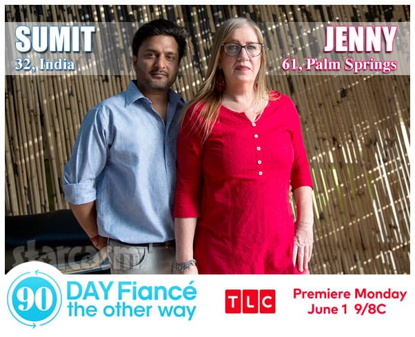90 Day Fiance The Other Way Season 2 Jenny from Palm Springs California and Sumit from India
