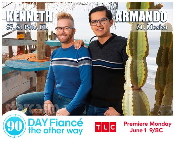 90 Day Fiance The Other Way Season 2 gay couple Kenneth from Saint Pete Florida and Armando from Mexico