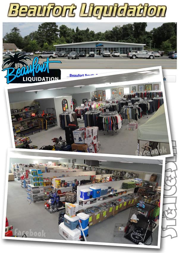 Tiger King Jeff Lowe South Carolina retail store Beaufort Liquidations