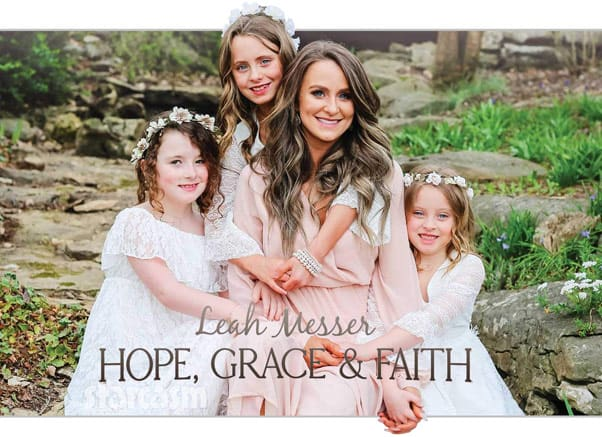 Teen Mom 2 Leah Messer book Hope Grace & Faith