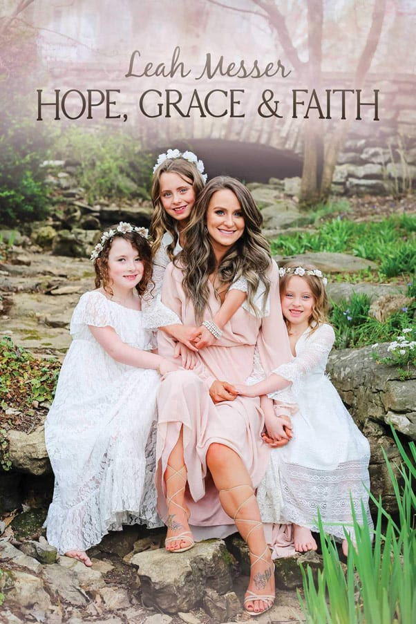 Teen Mom 2 Leah Messer memoir Hope Grace and Faith book cover