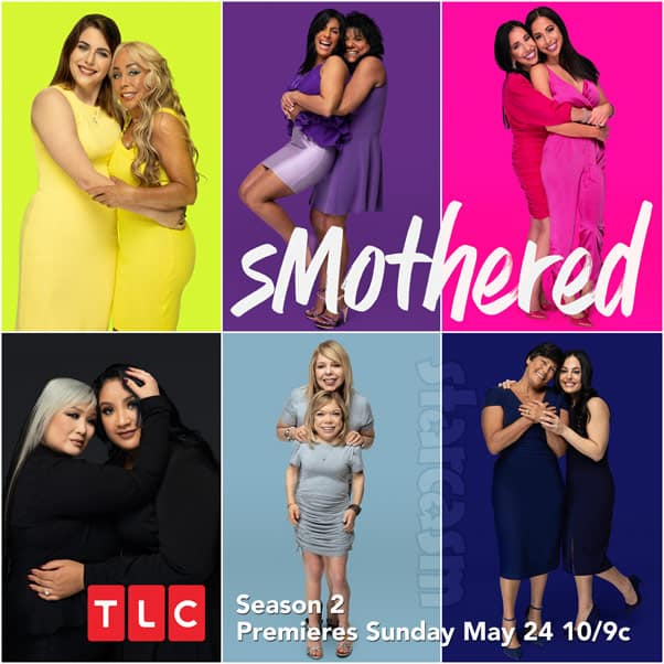 TLC sMothered Season 2 cast