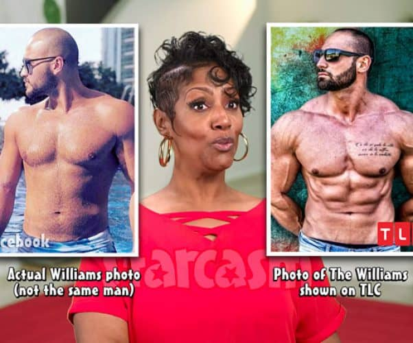 90 Day Fiance Before the 90 Days Yolanda catfish The Williams actual photo