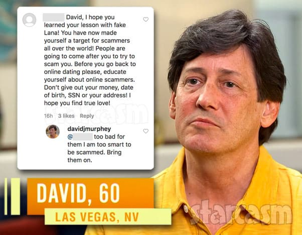90 Day Fiance Before the 90 Days David and Lana scam response