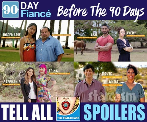 90 Day Fiance Before the 90 Days Season 4 Couples Tell All spoilers 2020