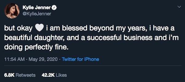 Kylie Jenner fake billionaire 5