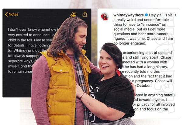 My Big Fat Fabulous Life Whitney Way Thore and fiance Chase Severino break up, he got another woman pregnant