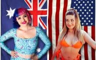 90 Day FIance Before the 90 Days Erika from Australia and Stephanie from the United States