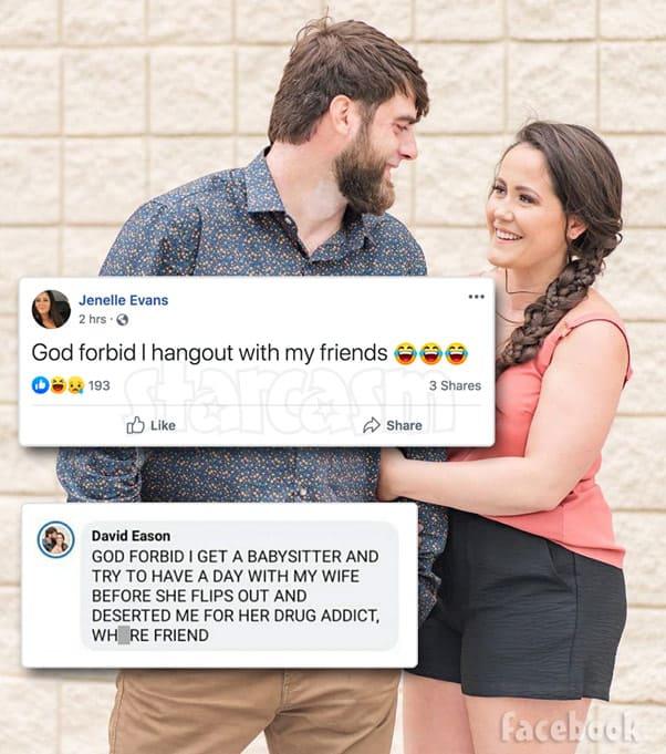 Teen Mom 2 David Eason Jenelle Evans Facebook feud 2020 babysitter