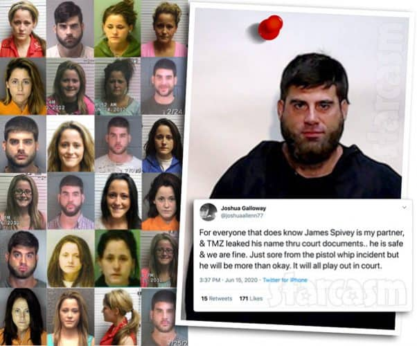 Teen Mom 2 Jenelle Evans and David Eason mugshots all 2020