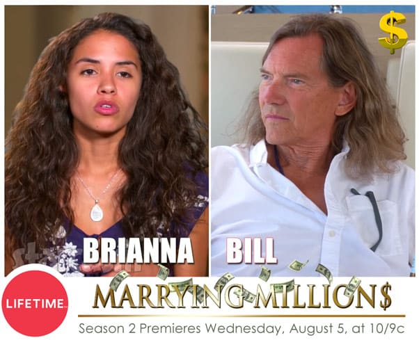 Marrying Millions Bill and Brianna