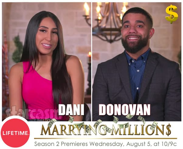 Marrying Millions Donovan and Dani