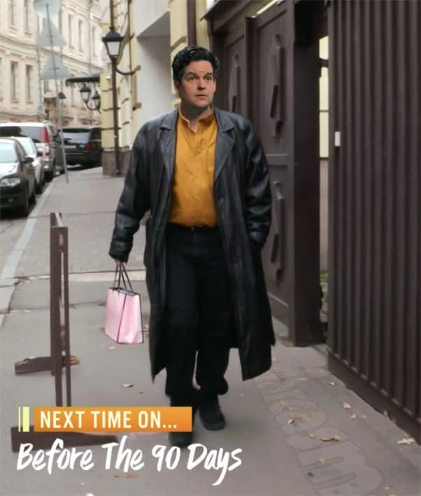 90 Day Fiance Before the 90 Days Tom Brooks as David Murphey walking