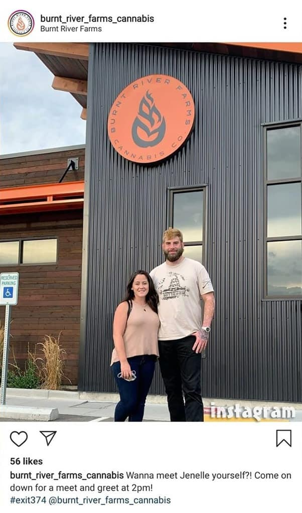 Burnt River Farms Jenelle Evans and David Eason meet and greet
